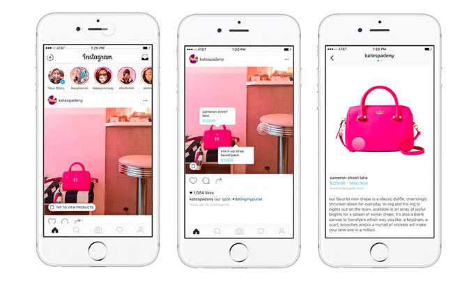 Instagram Shopping en tiendas e-commerce